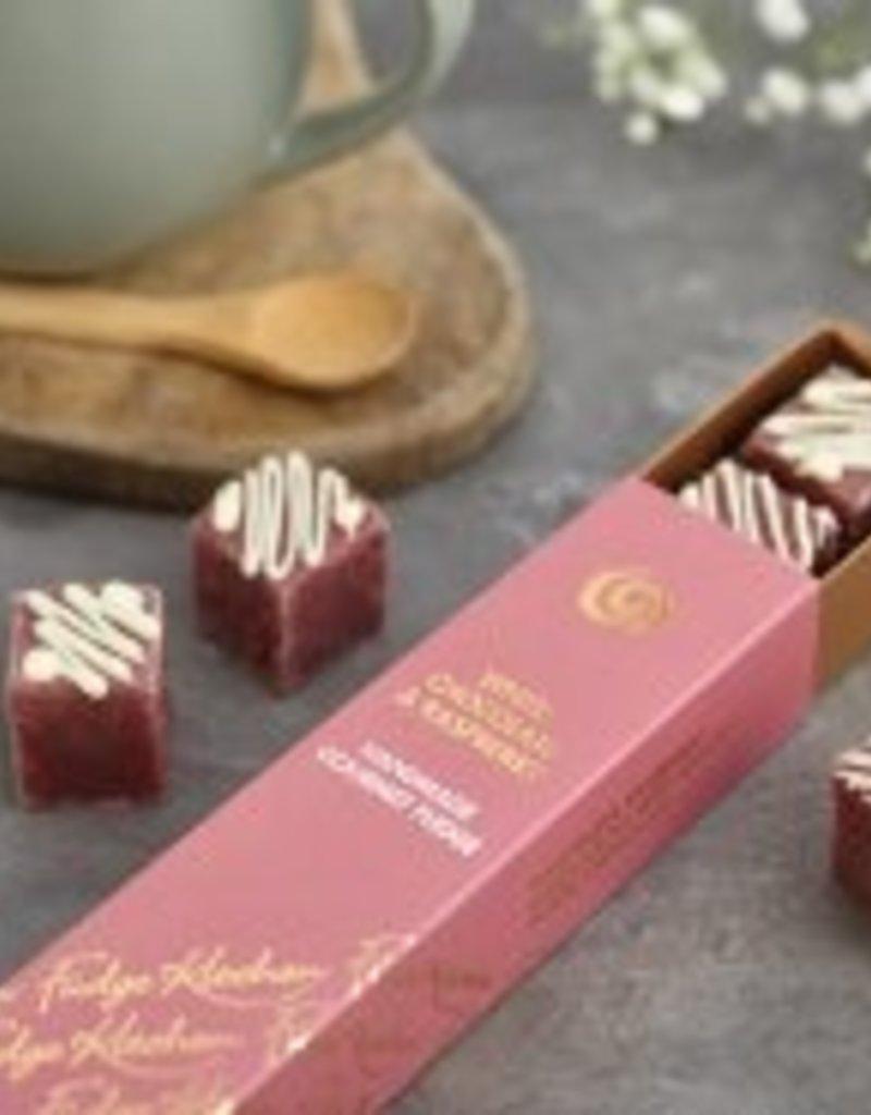 Fudge Artisanal - Framboise et chocolat blanc 6pcs