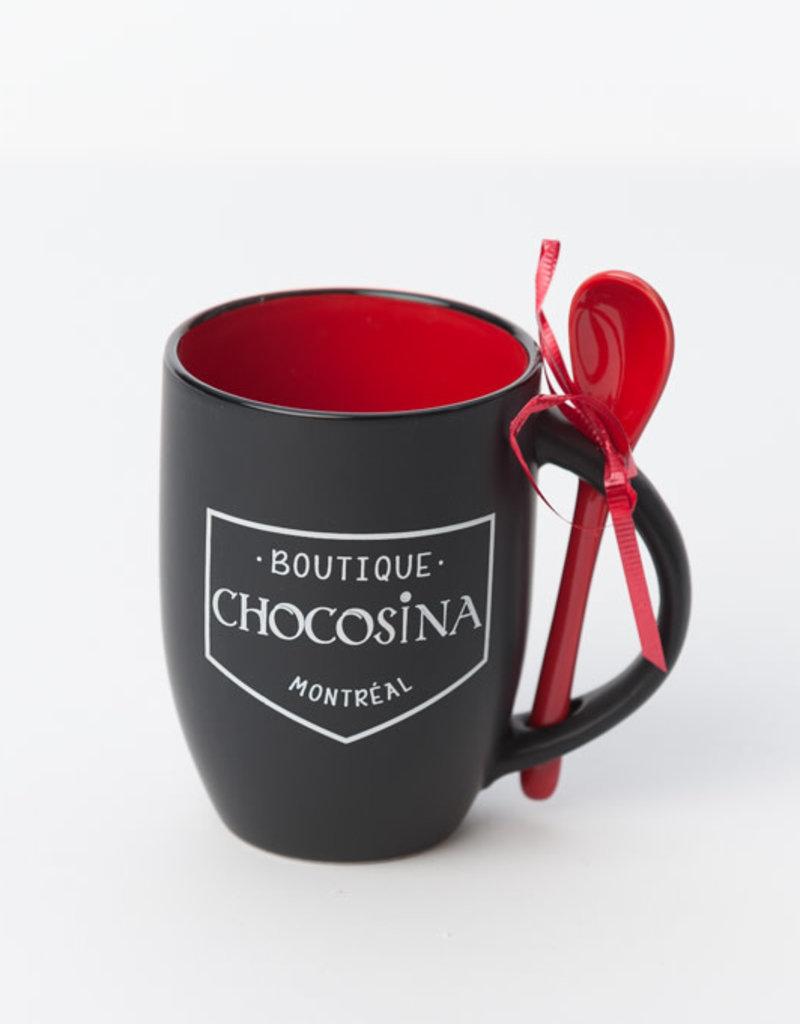 Tasse Chocosina 12oz - Rouge