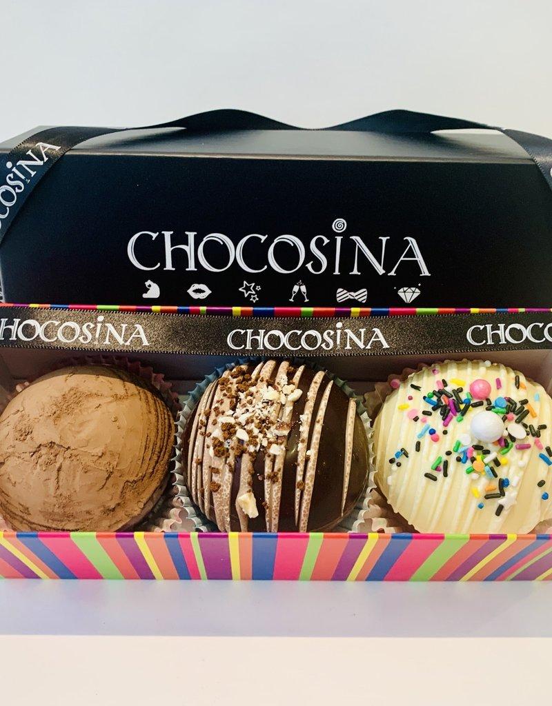Choco-Bombs 3pc Gift Box