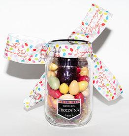 Easter Praline Dark Bunny Jar & Eggs- 450g
