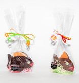 Striped Easter Filled Fish Milk Chocolate 120g
