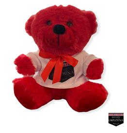 "Plush Strawberry Red Bear 6"""