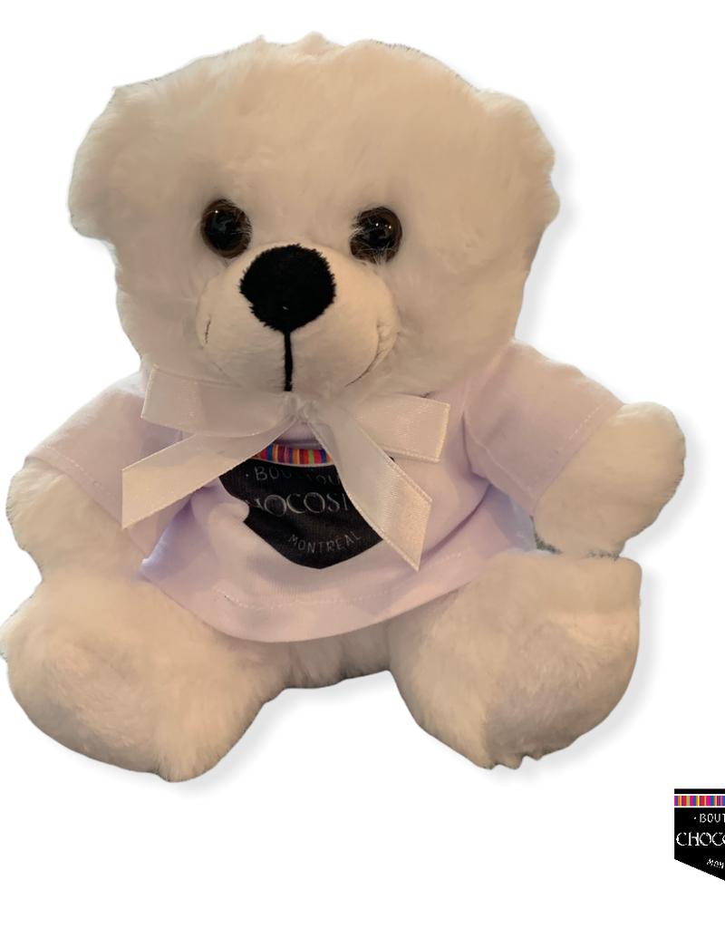 """Plush Colorama Twin Bears 6"""""""