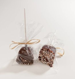 Chocosina Dark Chocolate Marshmallow Lollipop