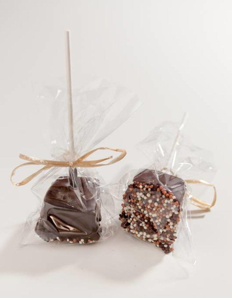 Suçon guimauve et chocolat noir