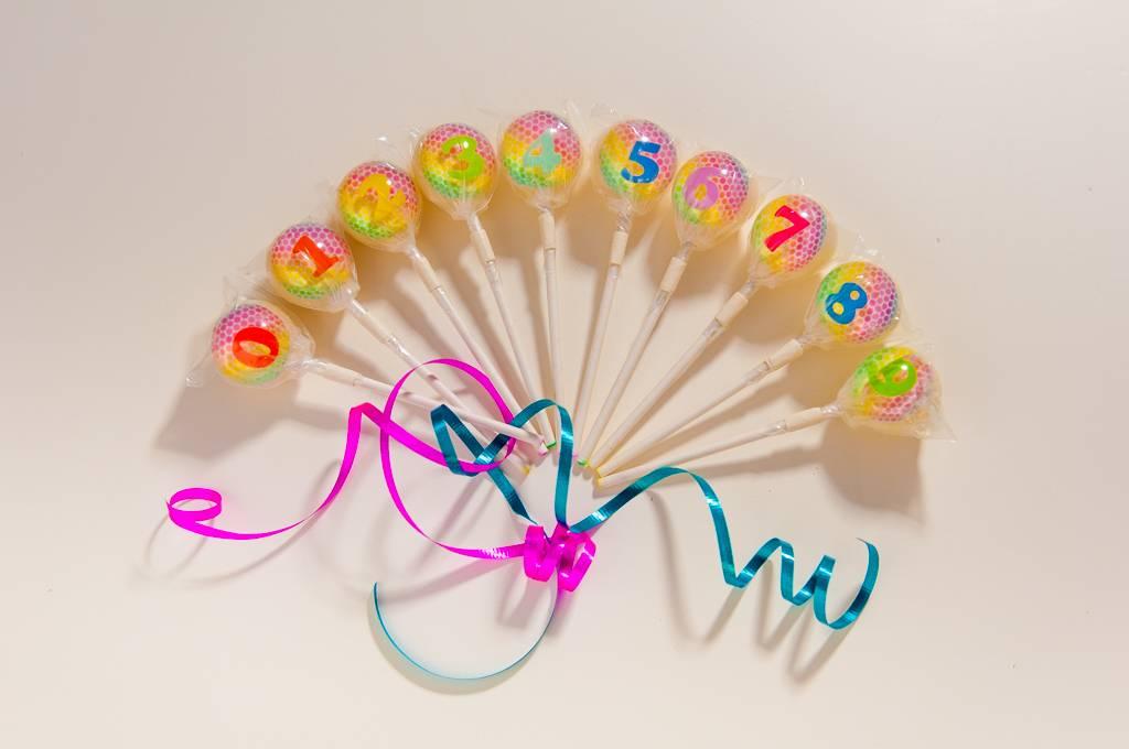 3D Rainbow Lollipop Numbers