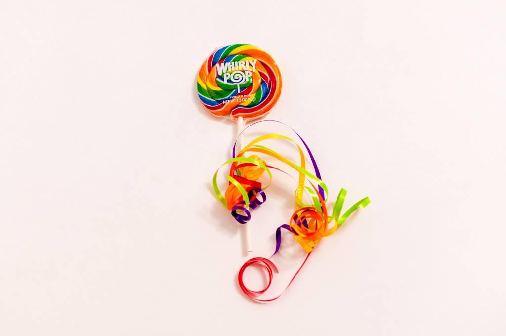 """Whirly Pop Swirly Rainbow 3"""""""