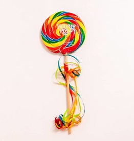 Whirly Pop suçons spirales Arc-en-ciel 5.25""