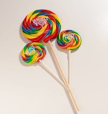 "Whirly Pop suçons spirales Arc-en-ciel 6 .5"""