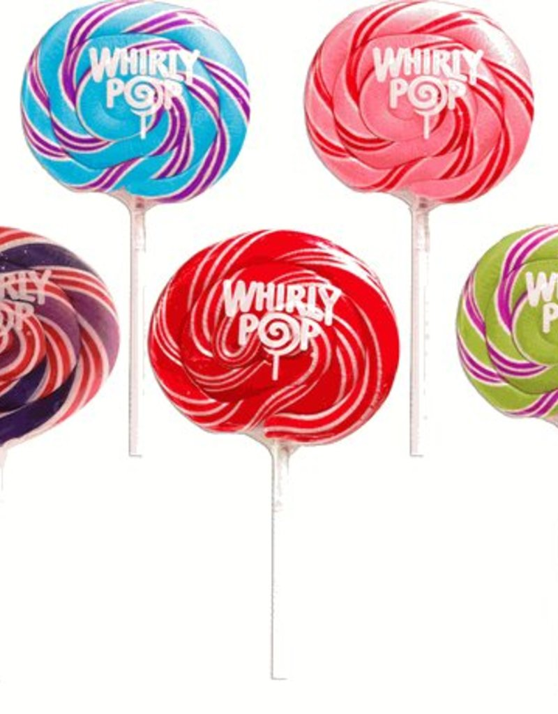 "Whirly Pop Suçons spirales assortis 3"""