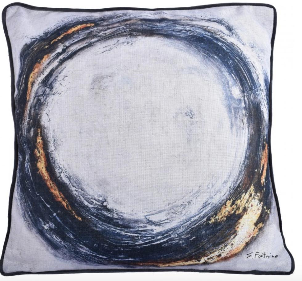 Ren-Wil Dottie Toss Pillow - 25 x 15