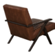SunPan Peyton Lounge Chair - Cantina Saddle Leather