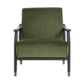 SunPan Kellam Chair - Moss Green Fabric