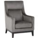 SunPan Eugene Armchair - Fossil Grey Fabric