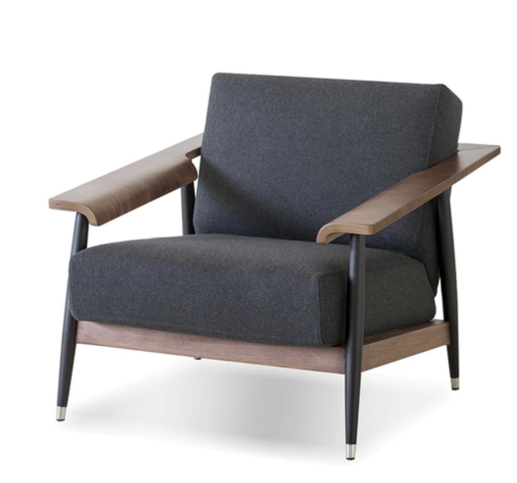 Mobital Wakefield lounge chair - Walnut