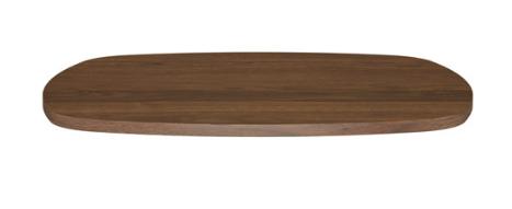 Amisco Walnut Veneer Tabletop (Walnut)