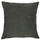 "Moe's Home Collection Lemmy Linen Feather Cushion Charcoal 20"" x 20"""