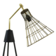 Moe's Home Collection Antonello Floor Lamp - Gold
