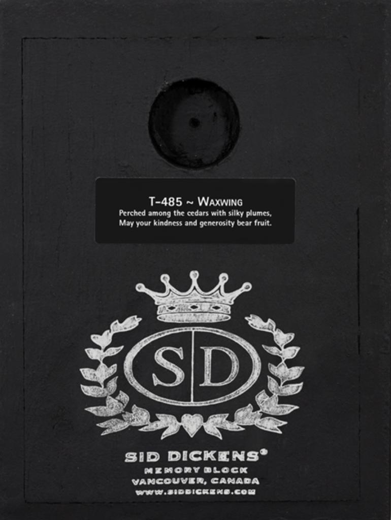 Sid Dickens Waxwing