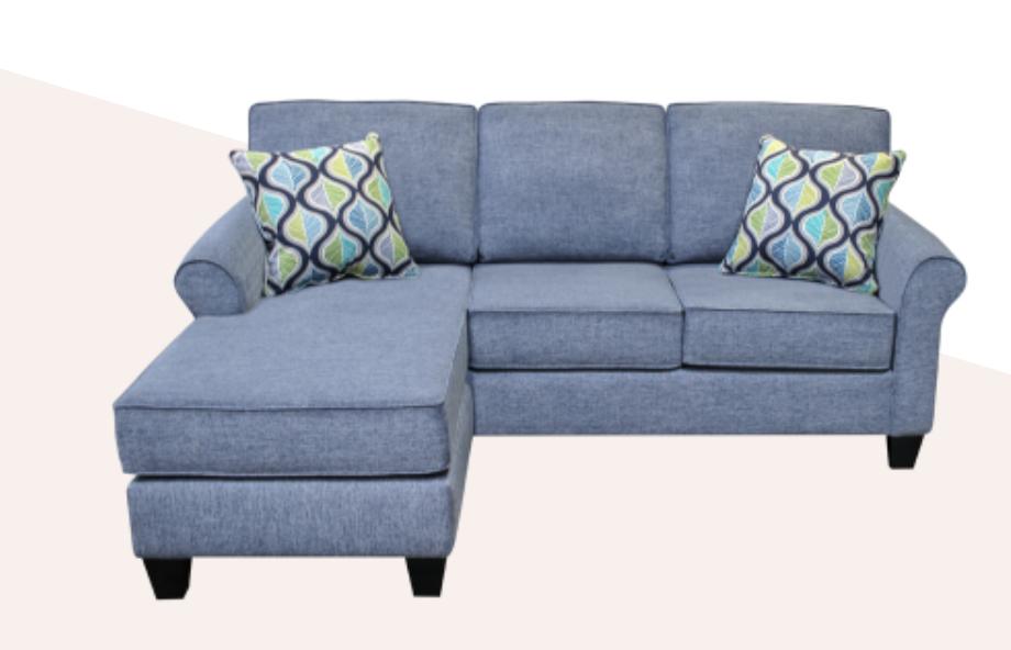 Elite Sofas Design Flip Sofa with reversable chaise - Gr B