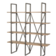 LH Imports Kenya Large Cain Rack <br /> Watered Grey / Steel