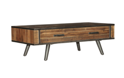 LH Imports VINTAGE coffee table