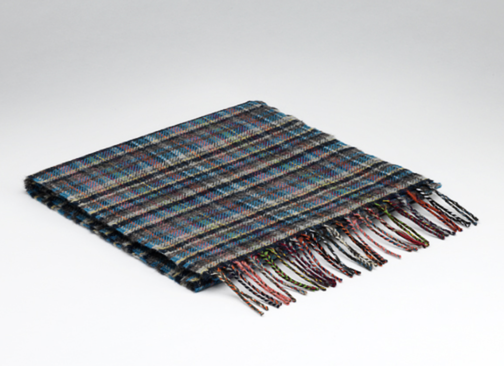 McNutt of Donegal Downings Mini Check Scarf
