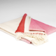 McNutt of Donegal Fushia Ombre Supersoft Throw