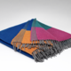 McNutt of Donegal Navigator Colour Block Supersoft Throw
