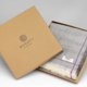 McNutt of Donegal Cashmere Pasmina with giftbox - Steel Grey