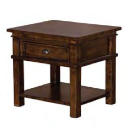 LH Imports Settler Small End Table