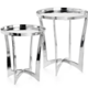 Torre & Tagus Lintel Aluminum Arch Side Tables - Set of 2