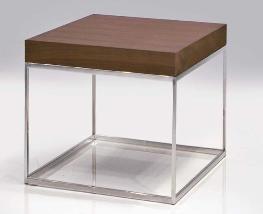 Mobital KUBO Walnut end table - Square