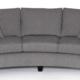 Birchwood Turner Curved Sofa: Grade B Fabric