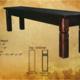 """Okanagan Rustix 60"""" Square leg bench"""