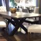 Okanagan Rustix X-Base Solid Top Dining