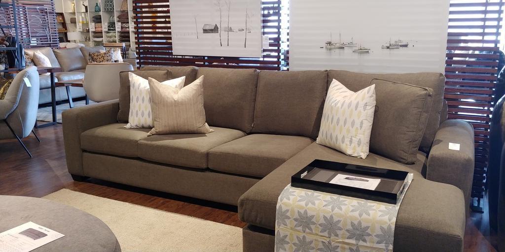 Stylus Cannon One Arm Chaise & One Arm Sofa - Gr 5