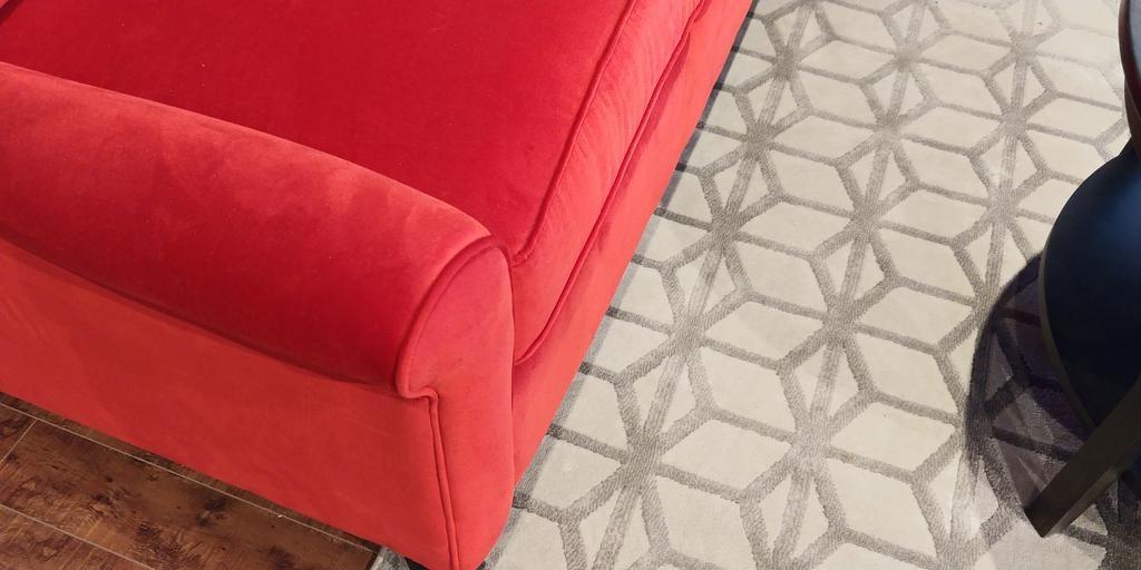 Stylus Dell Loveseat in Gr 25 Fabric