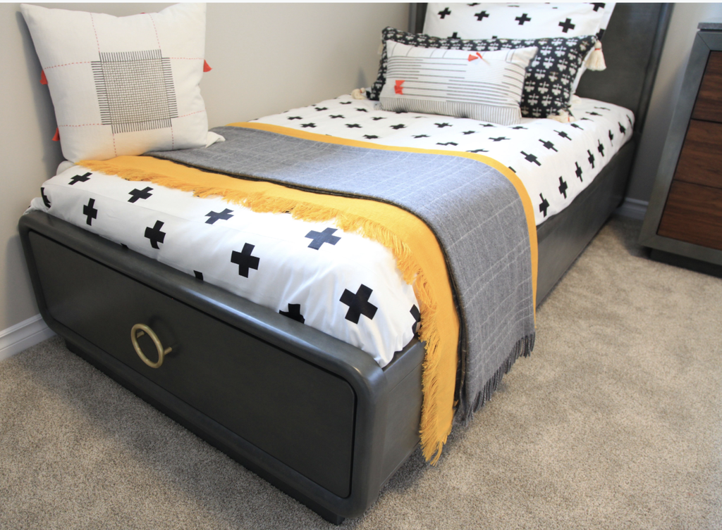 Palliser Boulevard Twin Panel Bed By Sarah Richardson