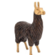 Torre & Tagus Gold Tipped Resin Standing Llama