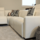 Palliser Path Reclining Sectional with Adjustable Headrest