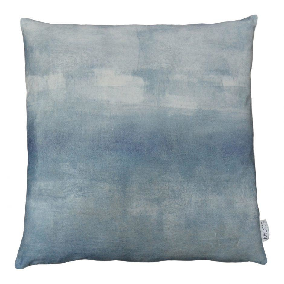 Moe's Home Collection Misty Velvet Feather Cushion