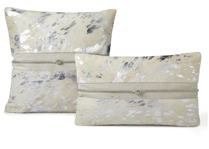 Auskin Auskin Cowhide Toss Pillow
