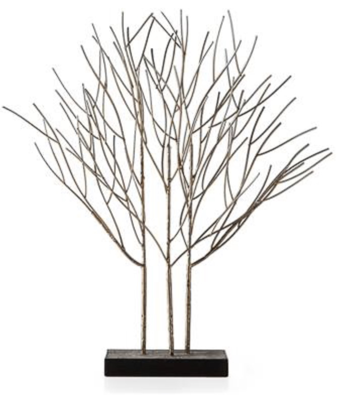 Ren-Wil Gramercy Metal Tree Sculpture - Tall