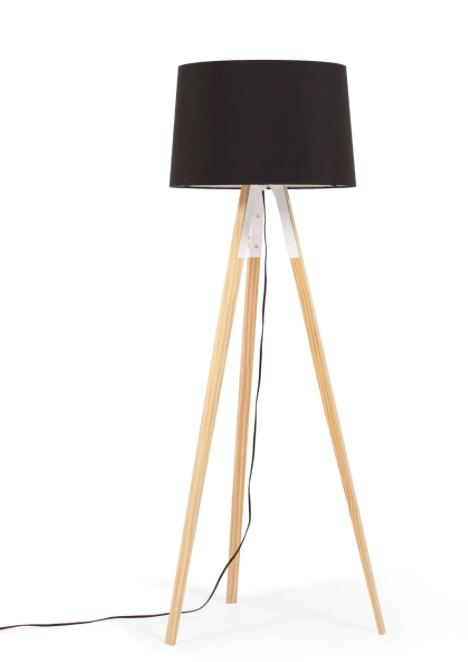 EQ3 AXLE floor lamp - Black