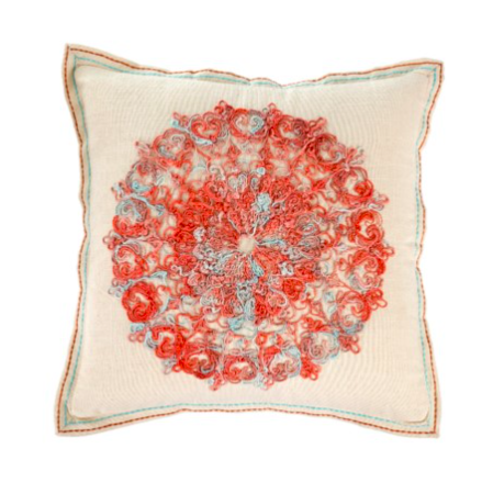 Dori Rust Toss Pillow