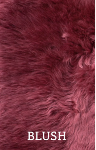 Auskin Auskin Longwool Natural Shaped Pelted Rug