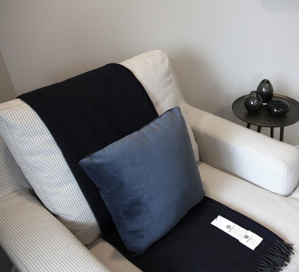 Van Gogh Cashmere Royal Blue Toss Pillow