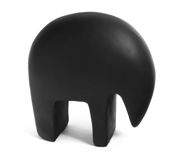 Bovi Homes Elephant Deco Black