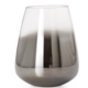 Torre & Tagus Smoke Mirror Cone Vase / Candle Holder - Short